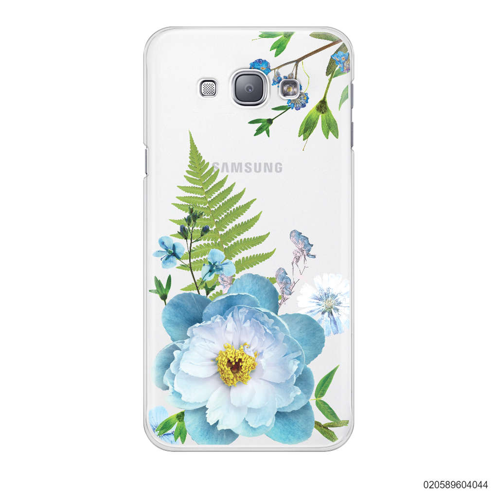 QUEEN BLUE FLOWER - Samsung Galaxy A8 2015
