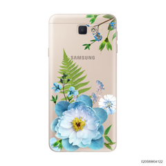 QUEEN BLUE FLOWER - Samsung Galaxy J5 Prime