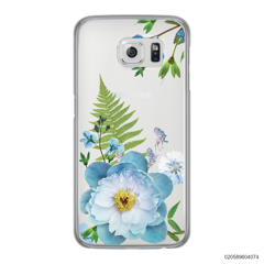 QUEEN BLUE FLOWER - Samsung Galaxy S6 Edge
