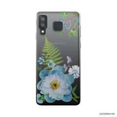QUEEN BLUE FLOWER - Samsung Galaxy A8 Star