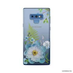 QUEEN BLUE FLOWER - Samsung Galaxy Note 9
