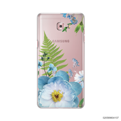 QUEEN BLUE FLOWER - Samsung Galaxy C9 Pro