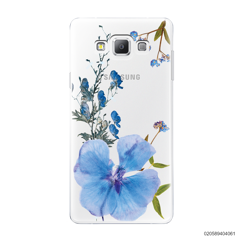 BLUE CONCEPT DRIED FLOWER - Samsung Galaxy A7 2015