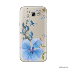 BLUE CONCEPT DRIED FLOWER - Samsung Galaxy A7 2017