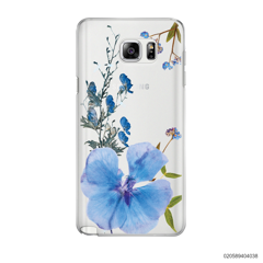 BLUE CONCEPT DRIED FLOWER - Samsung Galaxy Note 5
