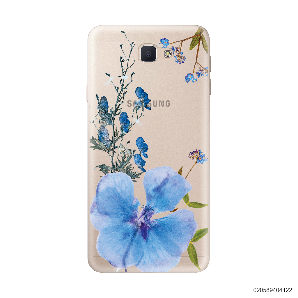 BLUE CONCEPT DRIED FLOWER - Samsung Galaxy J5 Prime