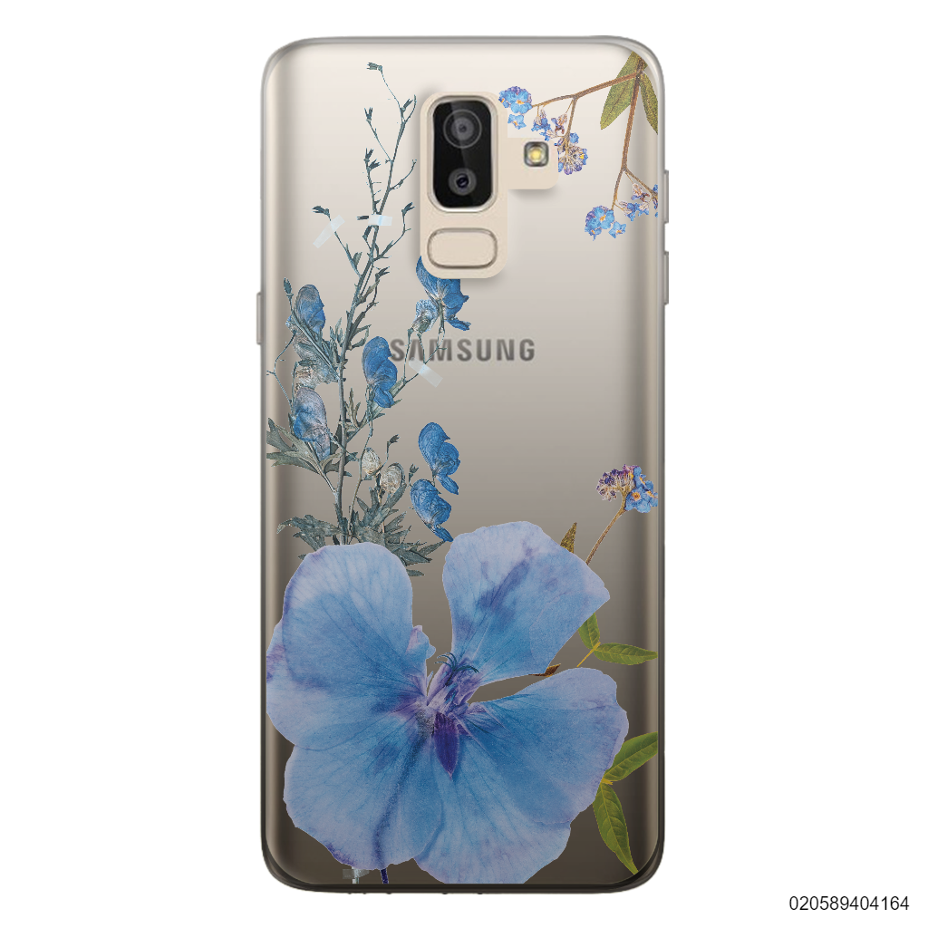 BLUE CONCEPT DRIED FLOWER - Samsung Galaxy J8 2018