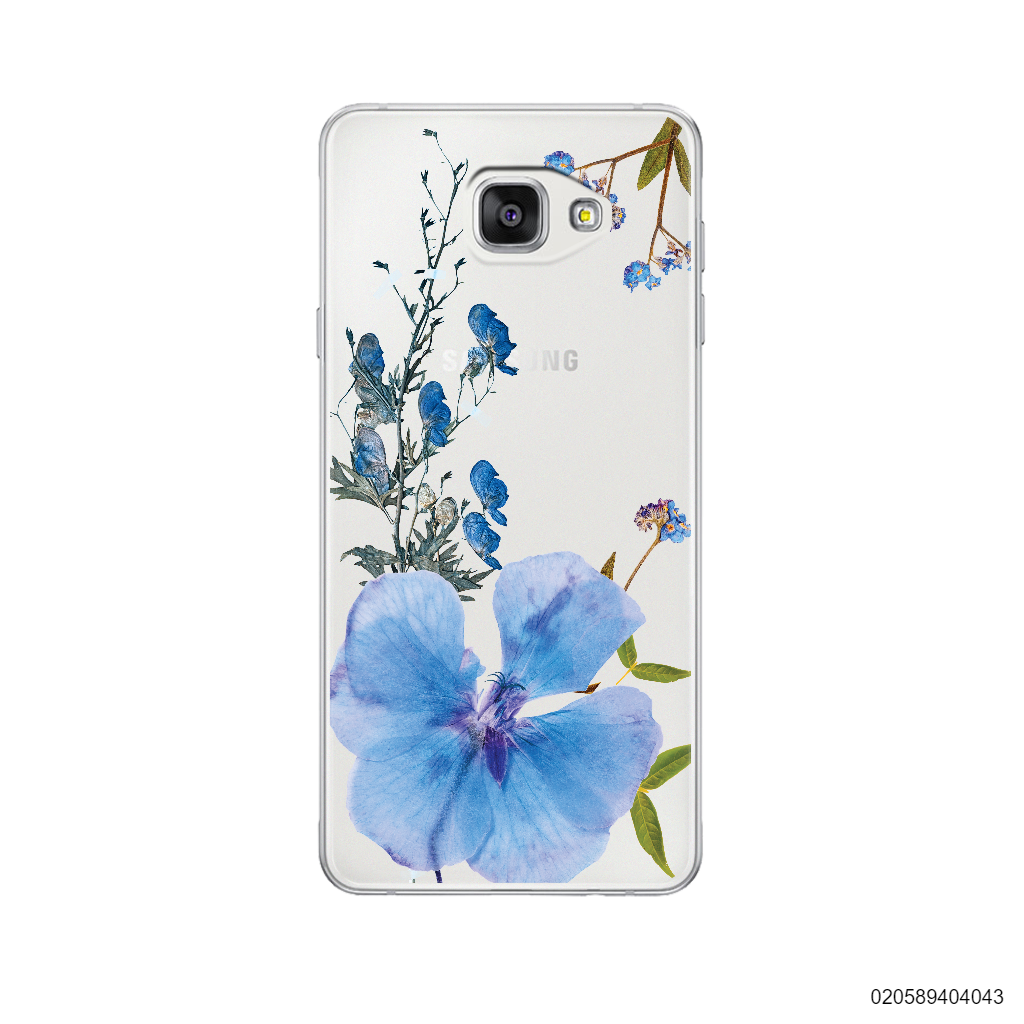 BLUE CONCEPT DRIED FLOWER - Samsung Galaxy A5 2016