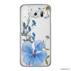BLUE CONCEPT DRIED FLOWER - Samsung Galaxy S6 Edge