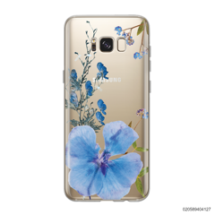 BLUE CONCEPT DRIED FLOWER - Samsung Galaxy S8