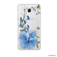 BLUE CONCEPT DRIED FLOWER - Samsung Galaxy J7 2016