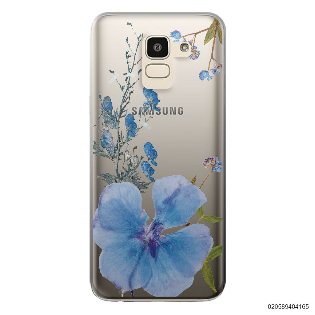 BLUE CONCEPT DRIED FLOWER - Samsung Galaxy J6 2018