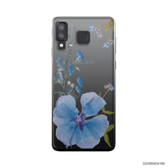 BLUE CONCEPT DRIED FLOWER - Samsung Galaxy A8 Star