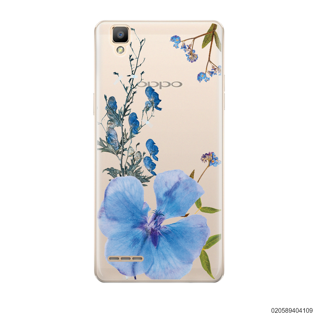 BLUE CONCEPT DRIED FLOWER - Oppo F1
