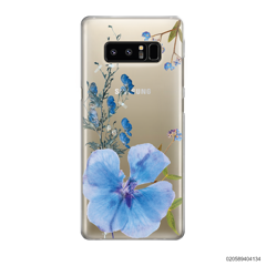 BLUE CONCEPT DRIED FLOWER - Samsung Galaxy Note 8