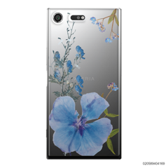 BLUE CONCEPT DRIED FLOWER - Sony Xperia XZ Premium