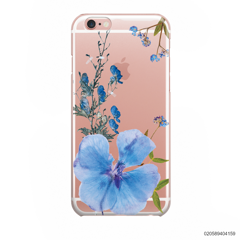 BLUE CONCEPT DRIED FLOWER - iPhone 6/6s