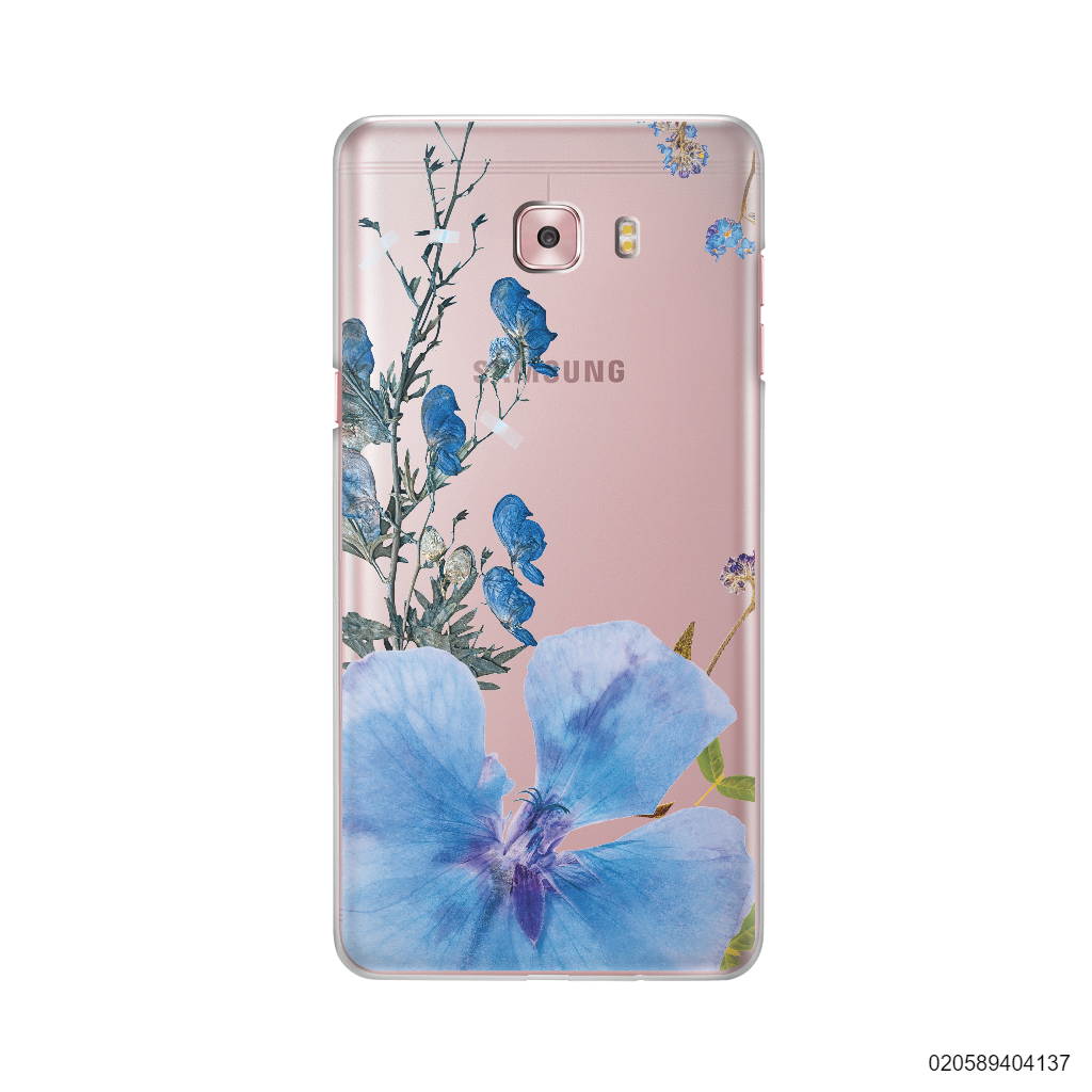 BLUE CONCEPT DRIED FLOWER - Samsung Galaxy C9 Pro