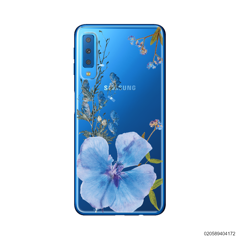 BLUE CONCEPT DRIED FLOWER - Samsung Galaxy A7 2018