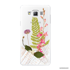 FLOWER ON WHITE WOOD - Samsung Galaxy A7 2015