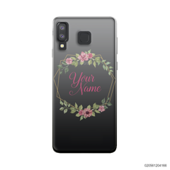 CUSTOMIZE LOVELY FLOWERS FRAME - Samsung Galaxy A8 Star
