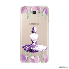 LADY IN PURPLE 2 - Samsung Galaxy J7 Prime