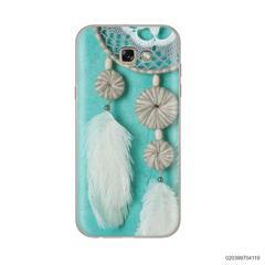 DREAM CATCHER WITH WHITE LEATHER - Samsung Galaxy A7 2017
