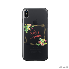 CUSTOMIZE TINY FLOWERS FRAME - Iphone X/ Xs