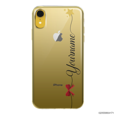 CUSTOM WITH RED RIBBON AND YELLOW STAR - Iphone XR