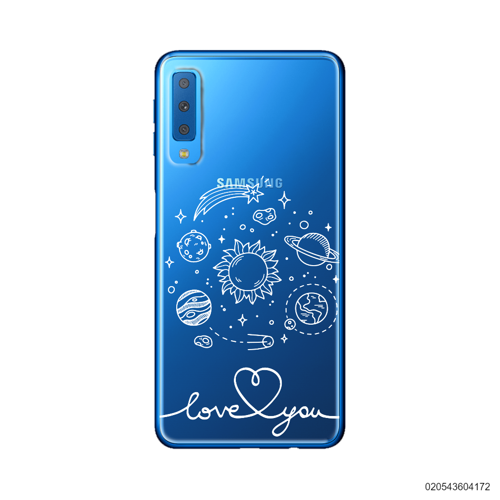 CUSTOM GALAXY LOVE YOU - Samsung Galaxy A7 2018