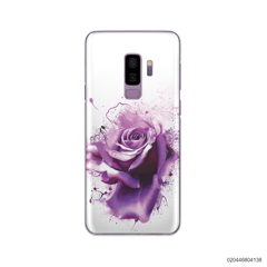 PURPLE MAGIC ROSE - Samsung Galaxy S9 Plus