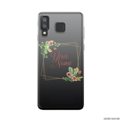 CUSTOMIZE TINY FLOWERS FRAME - Samsung Galaxy A8 Star