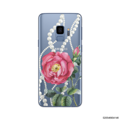 PEONY WITH PEARLS - Samsung Galaxy S9