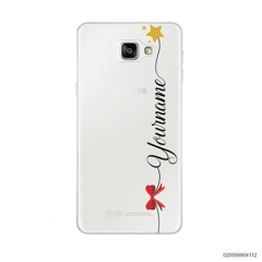 CUSTOM WITH RED RIBBON AND YELLOW STAR - Samsung Galaxy A9 Pro