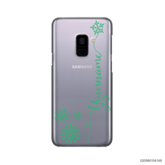 CUSTOM WITH SNOWFLAKES - Samsung Galaxy A8 Plus 2018