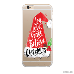 JOY LOVE PEACE BELIEVE CHRISTMAS - IPhone 6/6s Plus