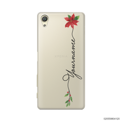 CUSTOM WITH CHRISTMAS LEAVES - Sony Xperia X