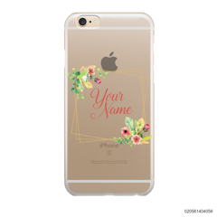 CUSTOMIZE TINY FLOWERS FRAME - IPhone 6/6s Plus