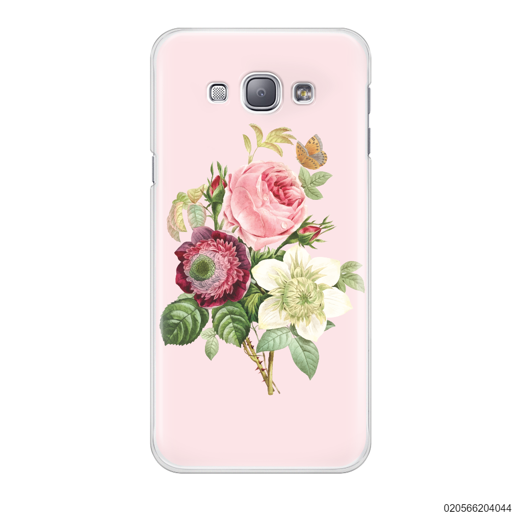 PEONY BOUQUET ON PINK THEME - Samsung Galaxy A8 2015