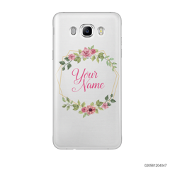 CUSTOMIZE LOVELY FLOWERS FRAME - Samsung Galaxy J7 2016