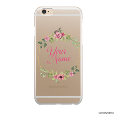 CUSTOMIZE LOVELY FLOWERS FRAME - IPhone 6/6s Plus