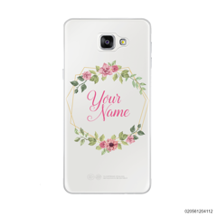 CUSTOMIZE LOVELY FLOWERS FRAME - Samsung Galaxy A9 Pro