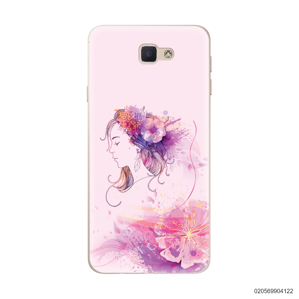 GIRL OVER FLOWER - Samsung Galaxy J5 Prime