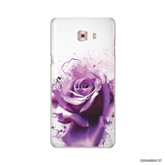 PURPLE MAGIC ROSE - Samsung Galaxy C9 Pro