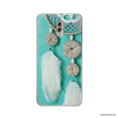 DREAM CATCHER WITH WHITE LEATHER - Samsung Galaxy J7 Plus