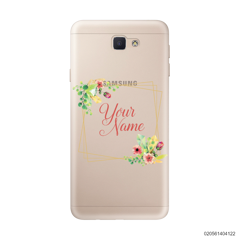 CUSTOMIZE TINY FLOWERS FRAME - Samsung Galaxy J5 Prime