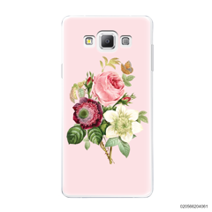 PEONY BOUQUET ON PINK THEME - Samsung Galaxy A7 2015