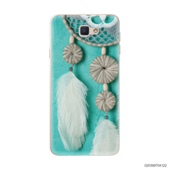 DREAM CATCHER WITH WHITE LEATHER - Samsung Galaxy J5 Prime
