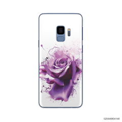 PURPLE MAGIC ROSE - Samsung Galaxy S9