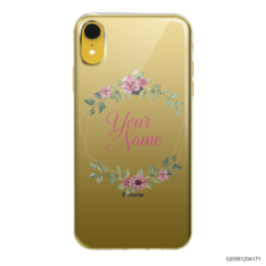 CUSTOMIZE LOVELY FLOWERS FRAME - Iphone XR